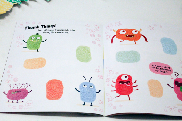 thumb things monster drawing prompt for kids doodles