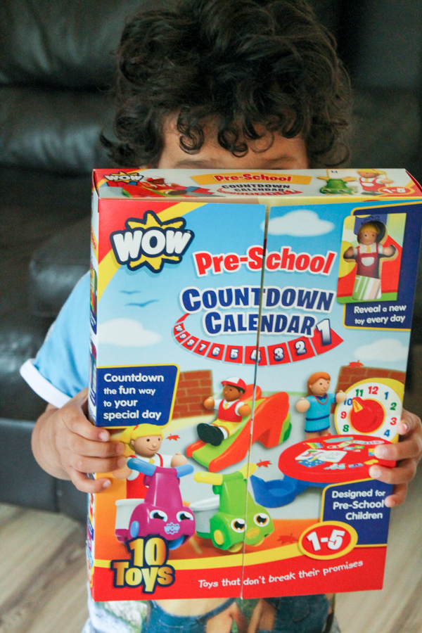 wow toys preschool count down calendar