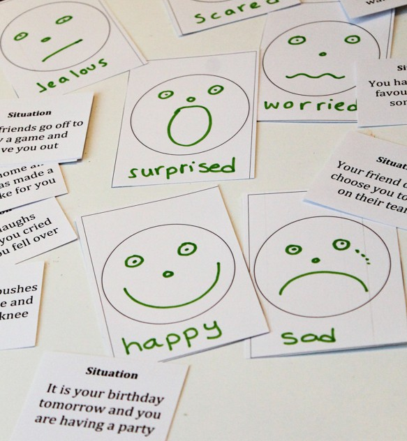 identifying emotions game