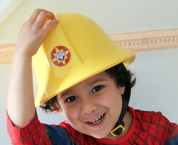 Fireman sam hat with sound