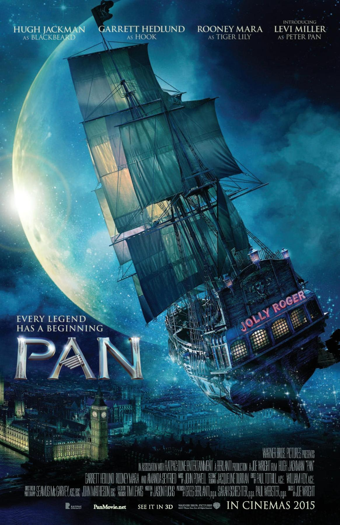 """Every legend has a beginning"" Free printable Pan activity book to celebrate the new movie Pan"