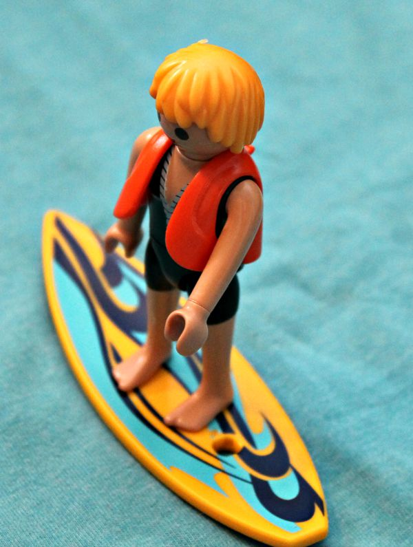 playmobile surfer