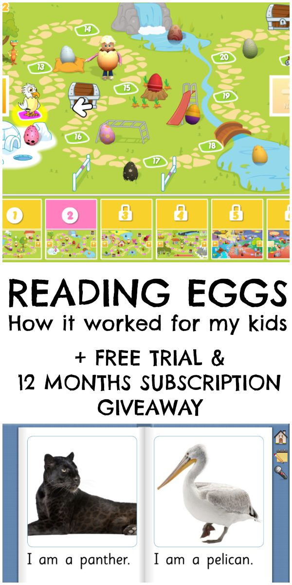 Reading eggs online reading programme for kids. This worked great with my kids, and you can get a free trial on the site