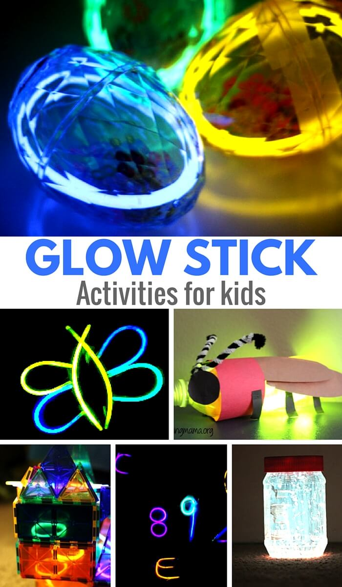 Glow Stick Activities for Kids