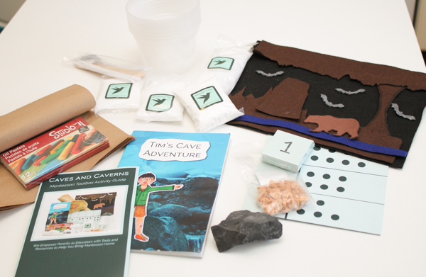 montessori by mom caves and caverns tool box