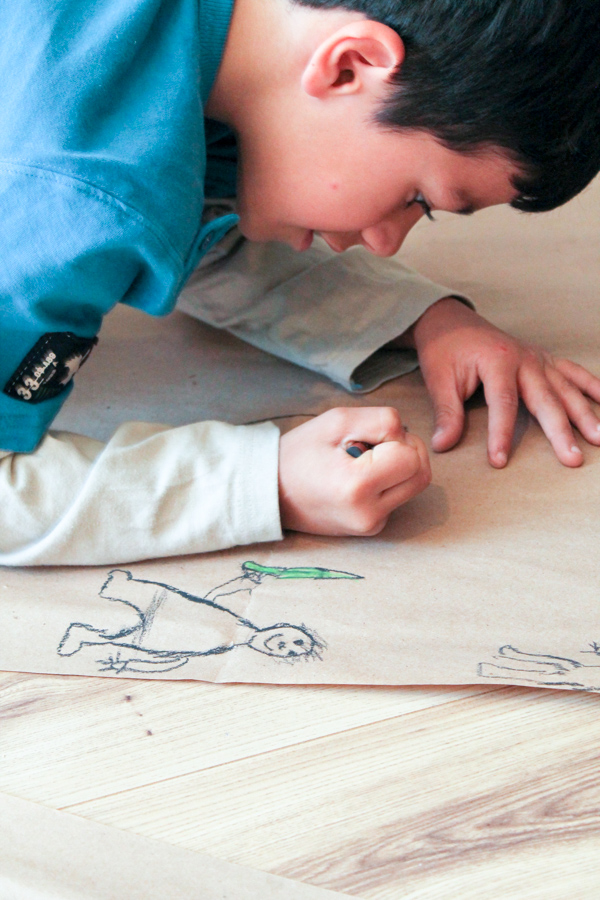 cave art project for kids