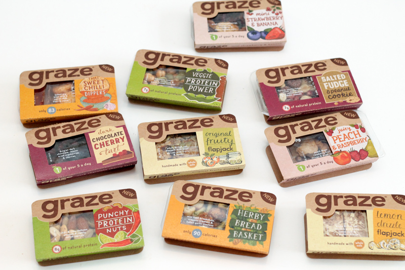 Graze healthy snacks