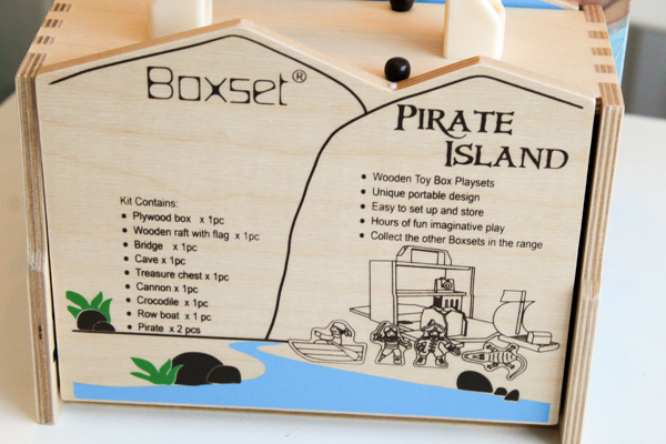 Casdon Pirate Island Woodplay Boxset