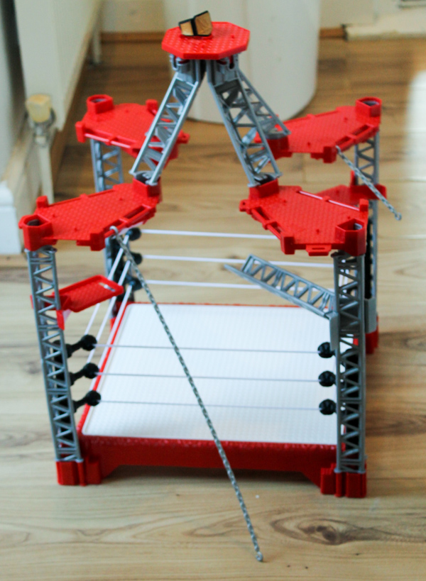 WWE Create a superstar range ring builder play set