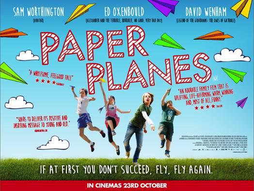 Paper planes movie UK poster