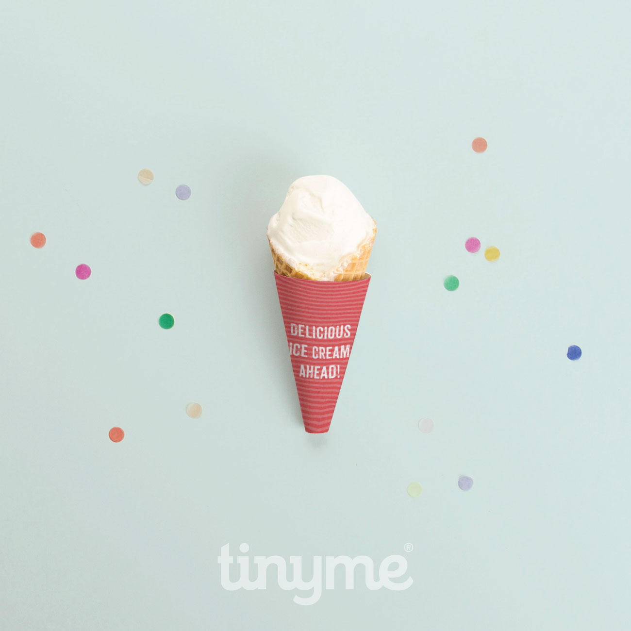 birthday construction party printables, ice cream cone wrappers