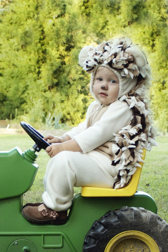 Baby toddler hedgehog costume from Alida Makes