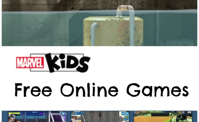 Marvel Kids Free Online Games For Kids In The Playroom