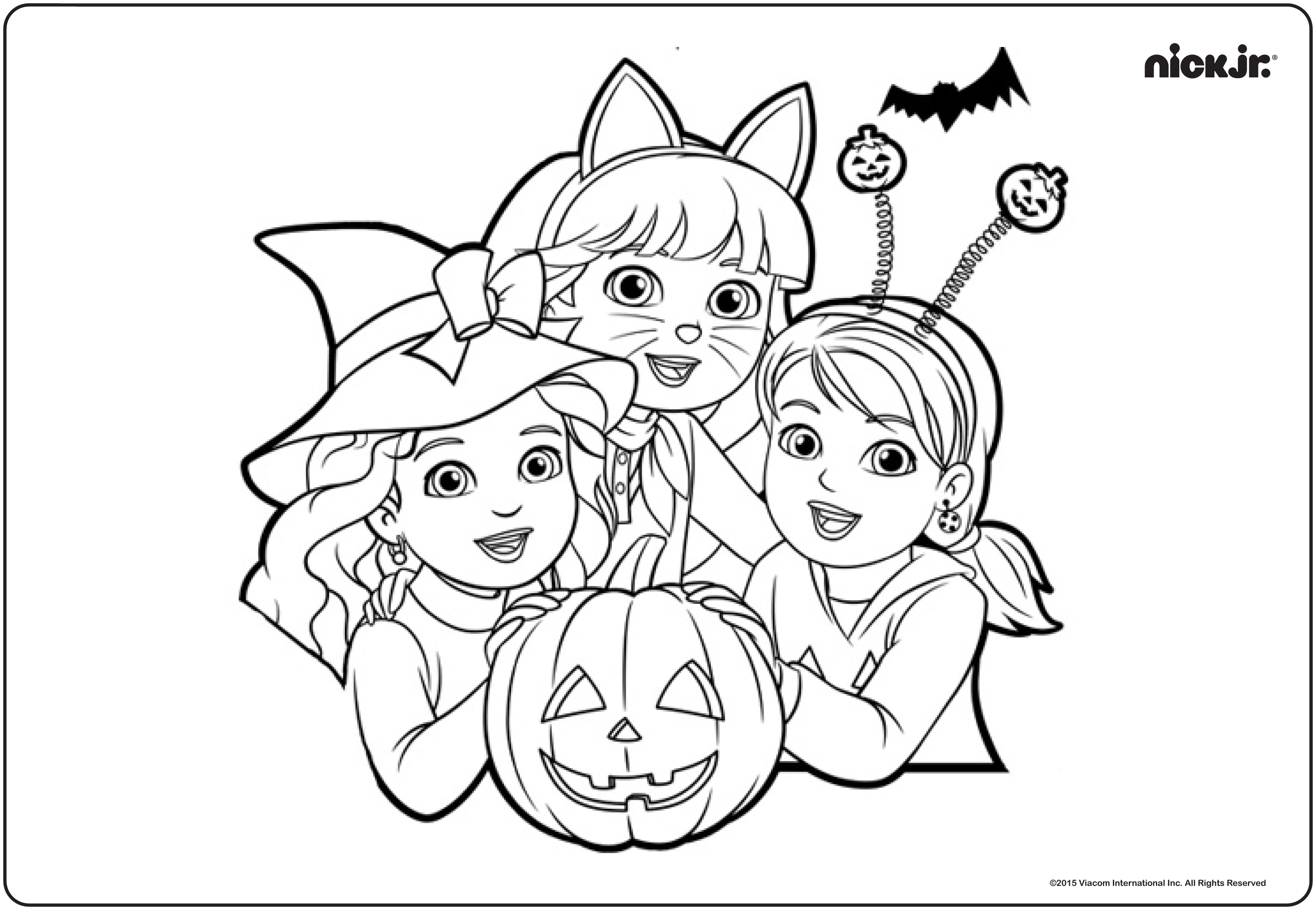 Nick Jr Pumpkin Party And Giveaway