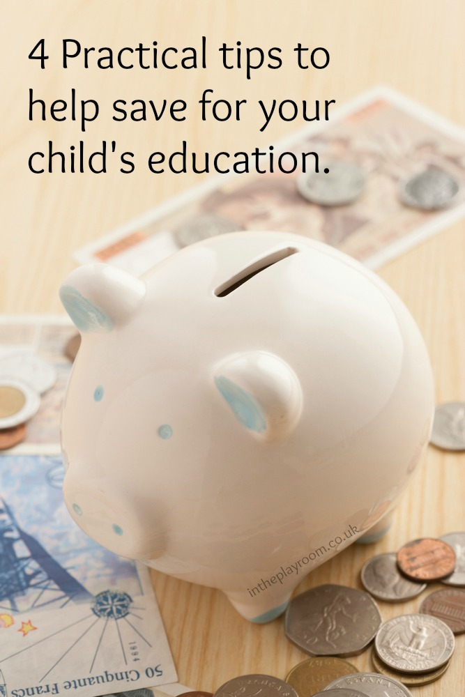 4 Practical tips to help save for your child's education