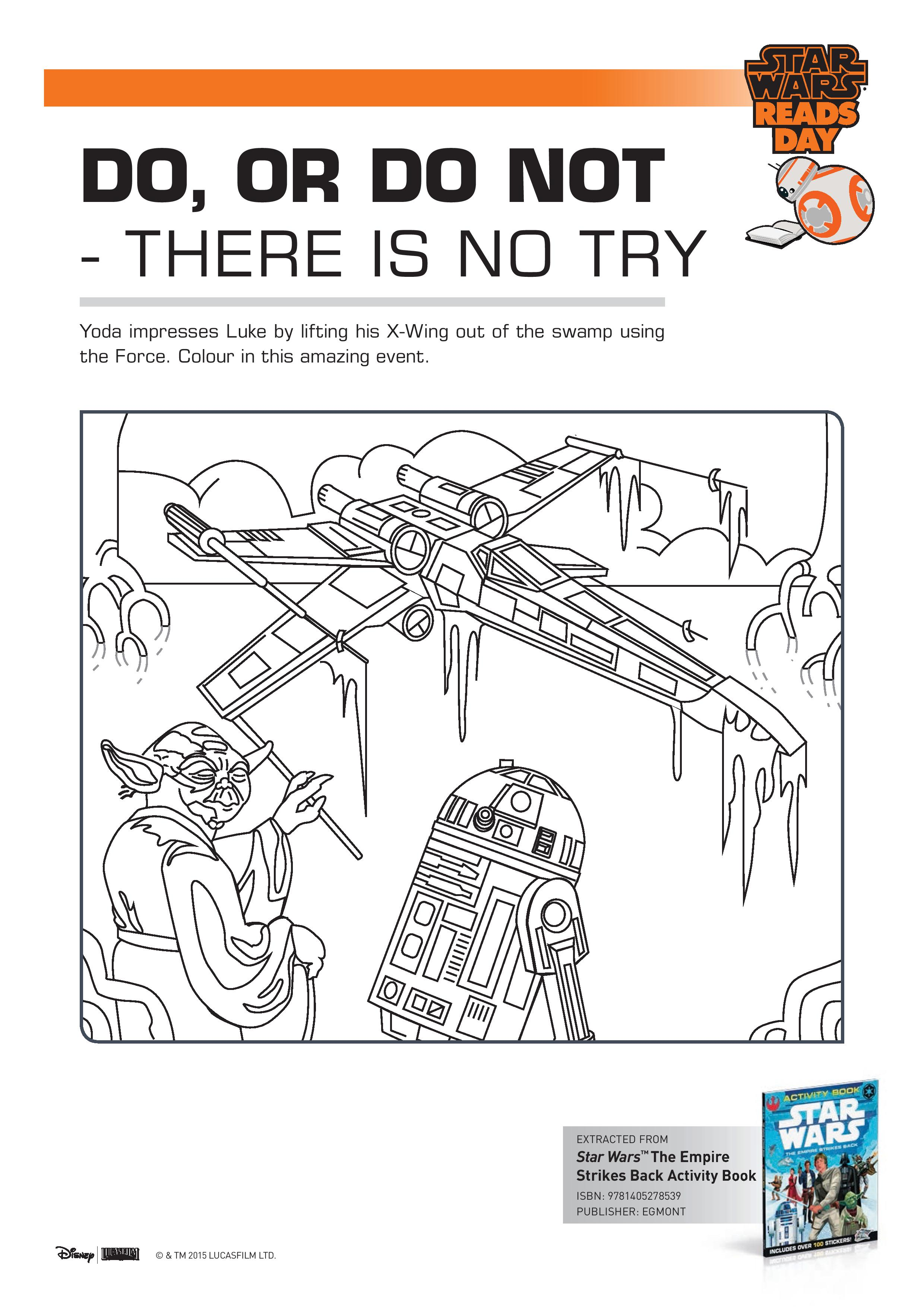Printable Star Wars Activity Sheets