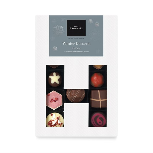 Winter Desserts H Box from Hotel Chocolat