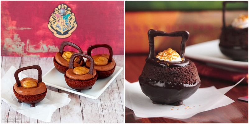 Harry Potter inspired Cauldron Cakes
