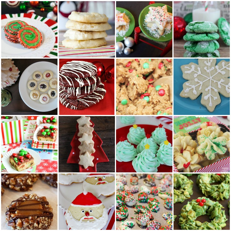 Huge collection of Christmas cookie recipes by category