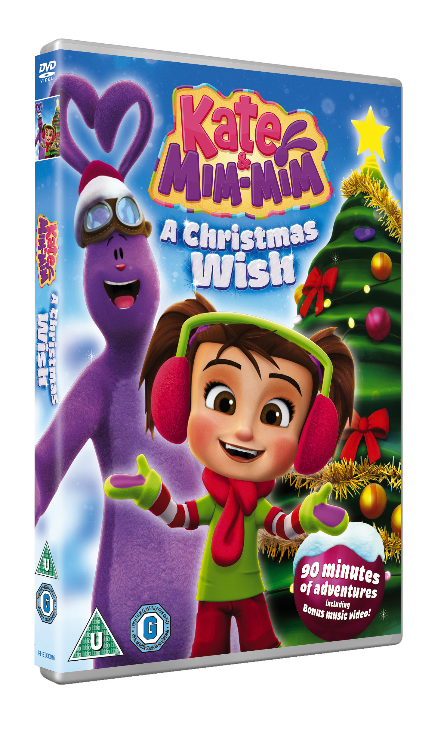 Kate and mIM mIM CHRISTMAS dvd