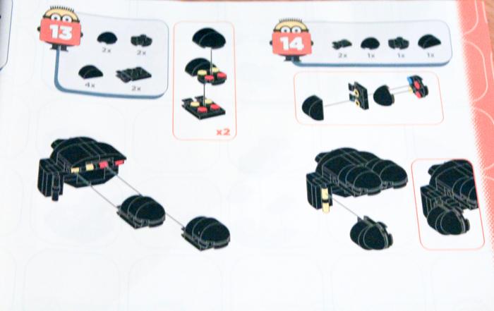 Megabloks Minions Instruction book