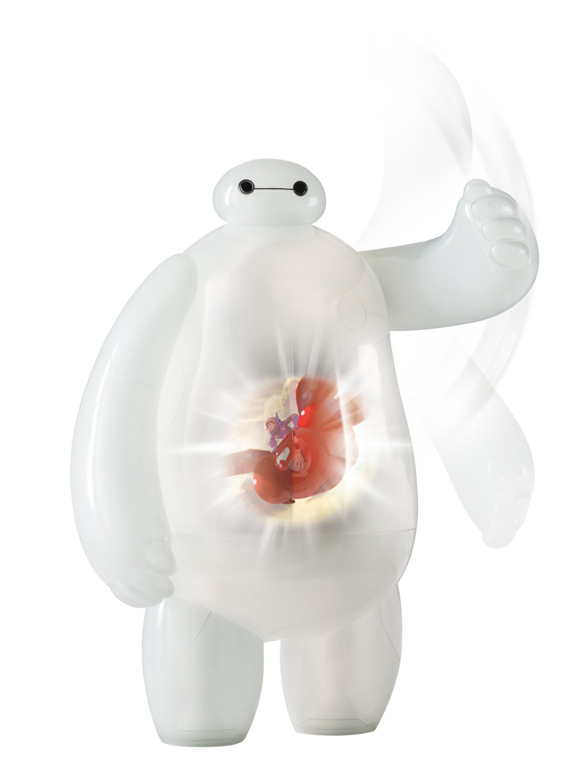 Projection Baymax toy