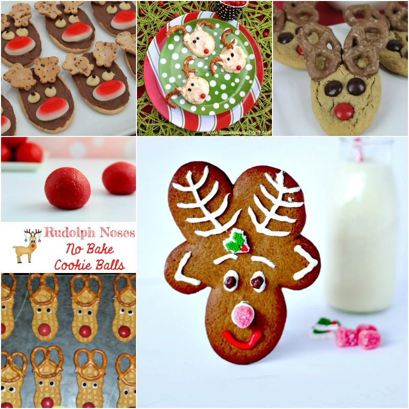 Reindeer Cookie recipes, cute for Christmas parties