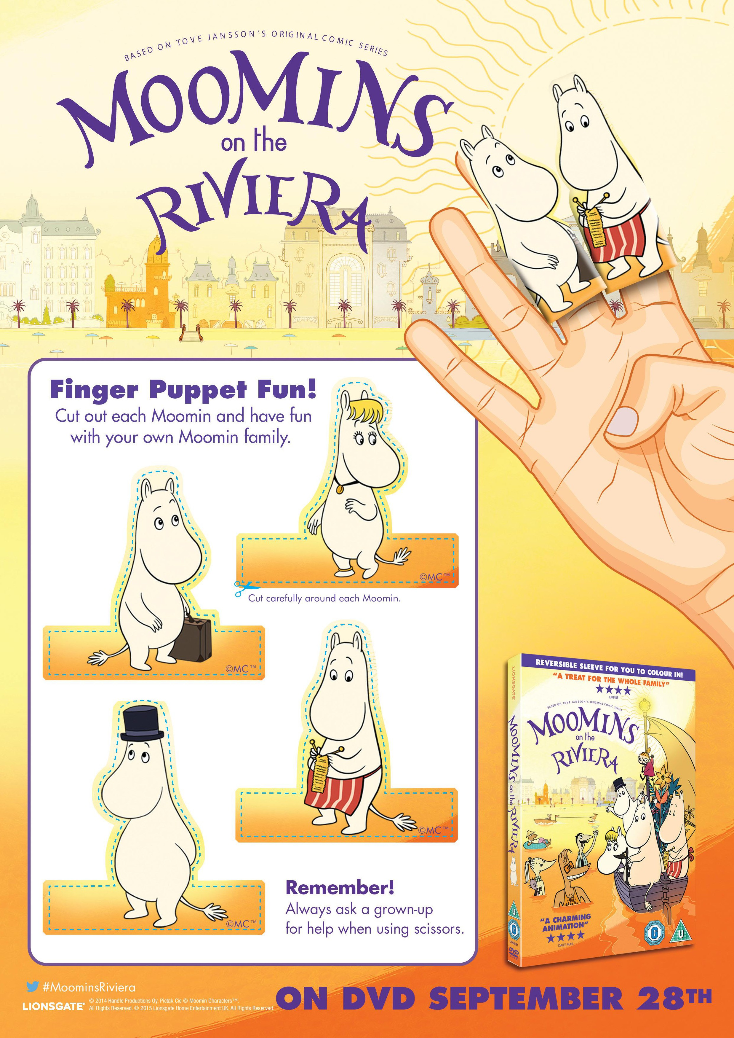 moomins finger puppets