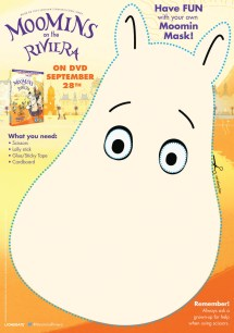 Moomins Printable Activity Sheets - In Playroom