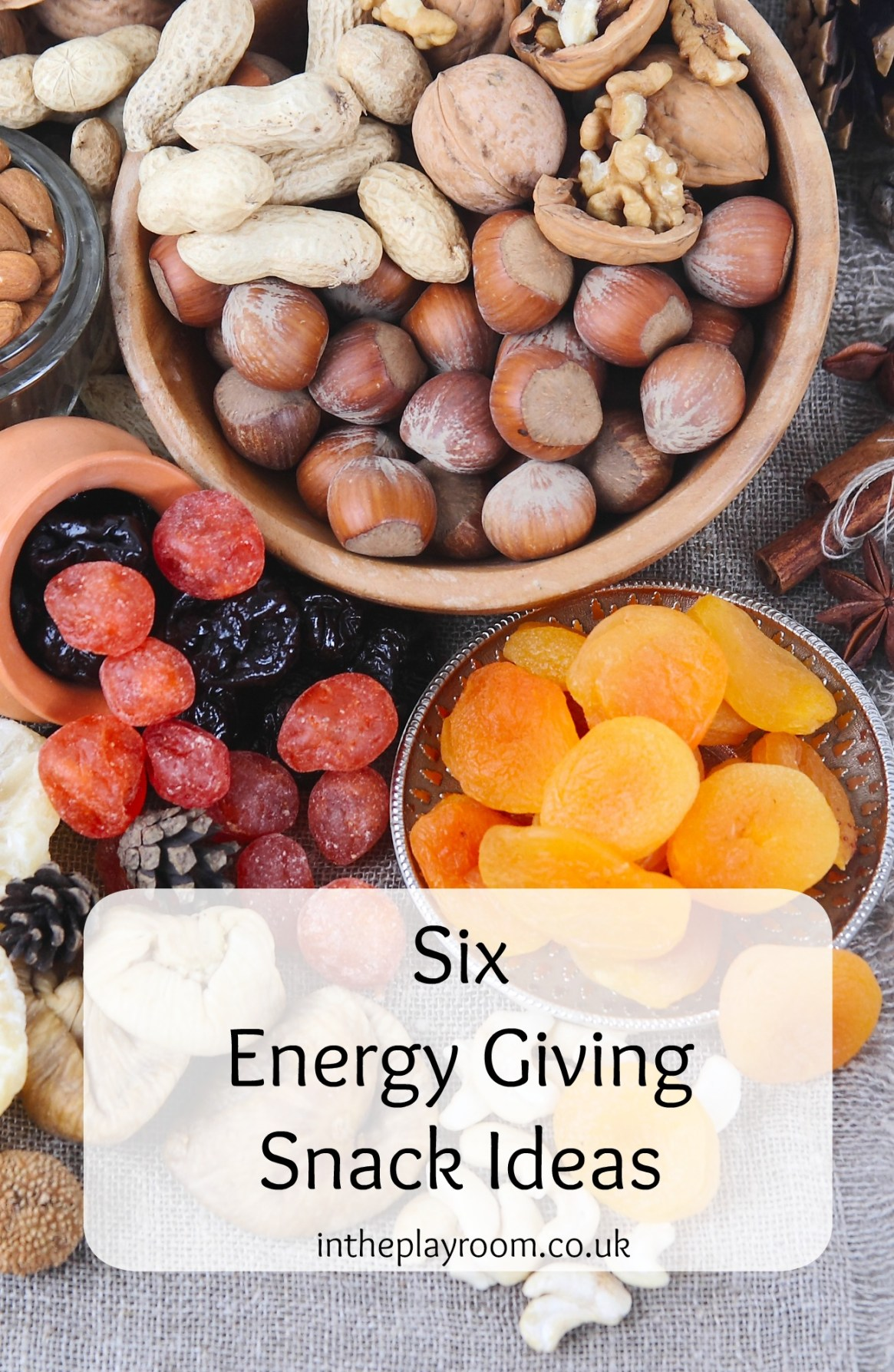 6 energy giving snack ideas and treats