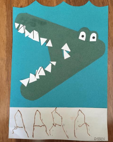 LetterA-Alligator