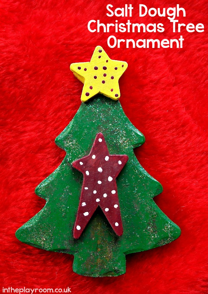 salt dough Christmas craft