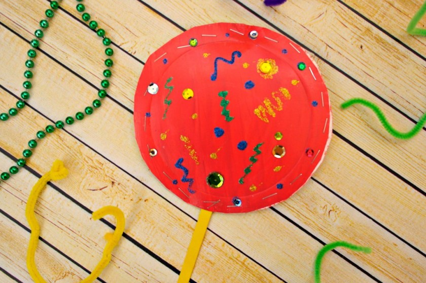 chinese new year shaker craft for kids
