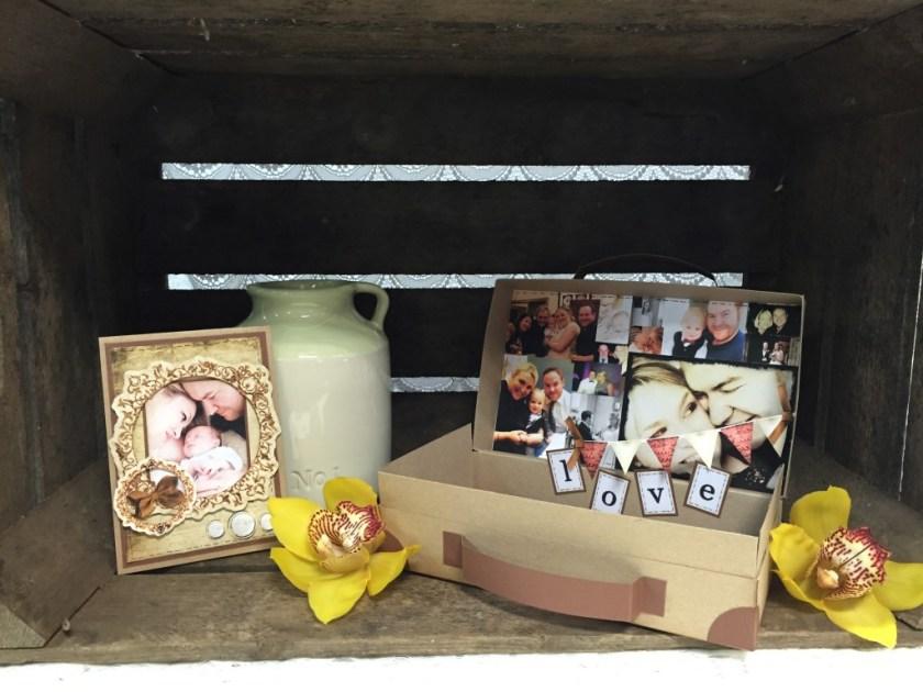 suitcase of memories valentines craft