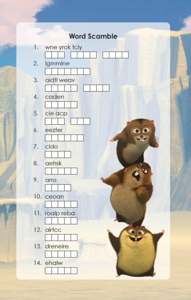 NormOfTheNorth-WordScramble