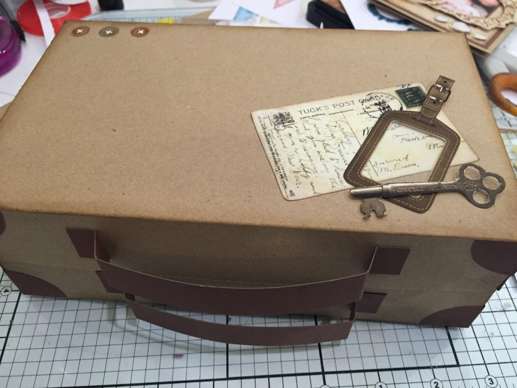 suitcase of memories craft