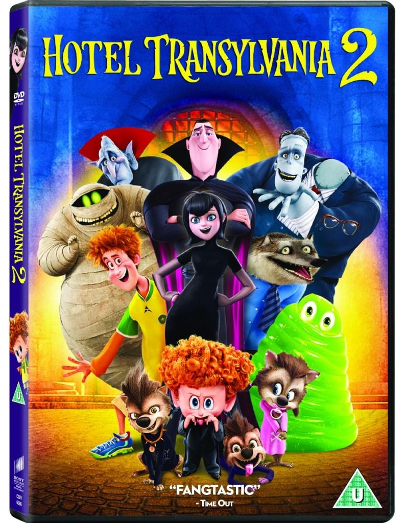 hotel transylvania 2 dvd cover