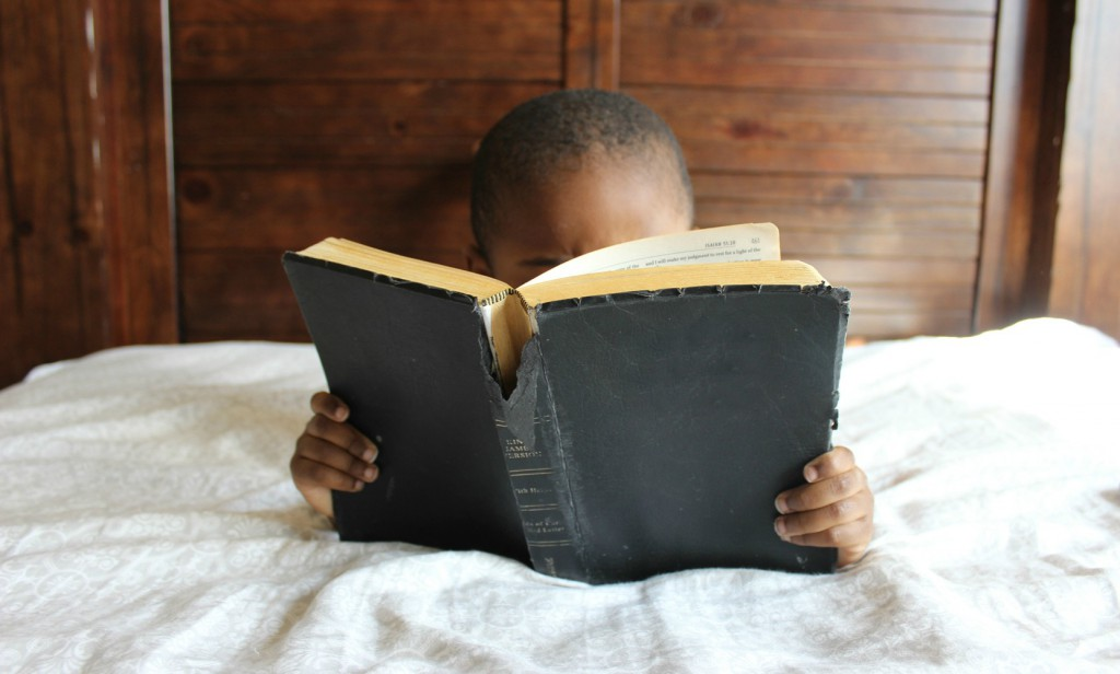 introverted children - let them read