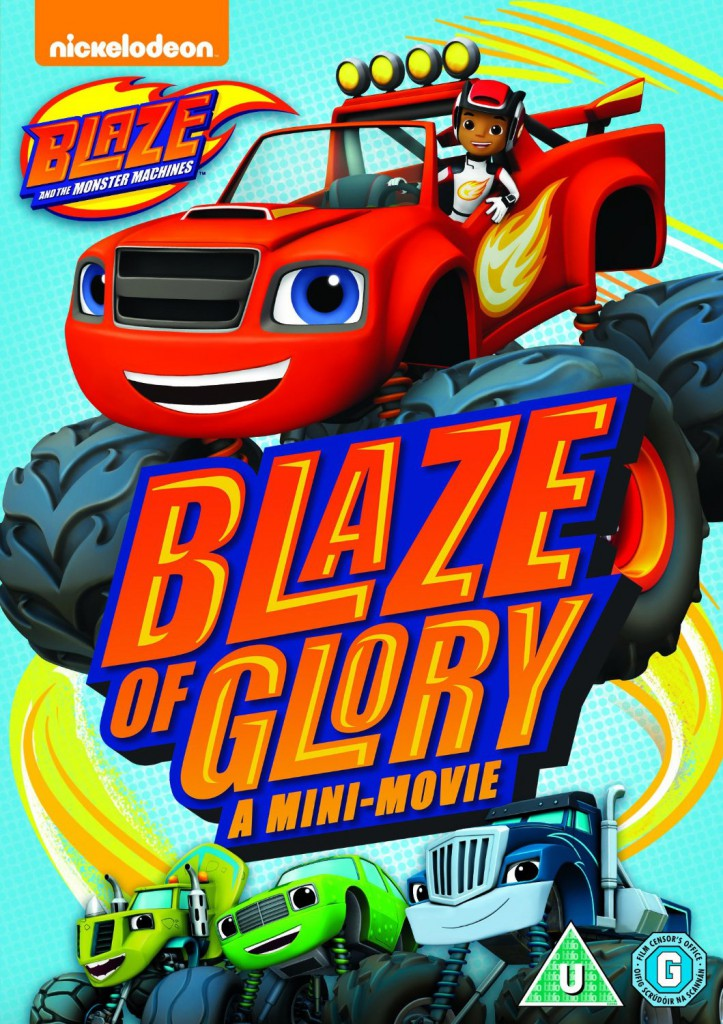 blaze and the monster machines blaze of glory mini movie
