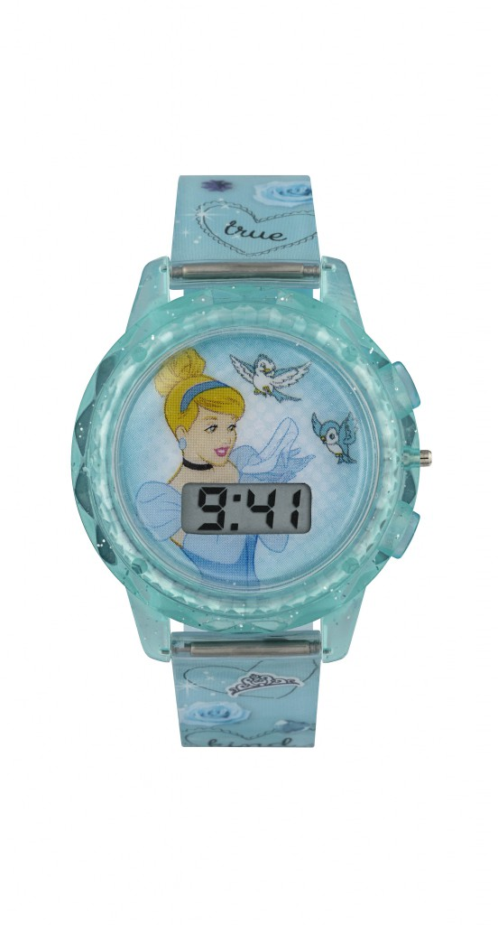 Cinderella_Blue Digital Watch-min