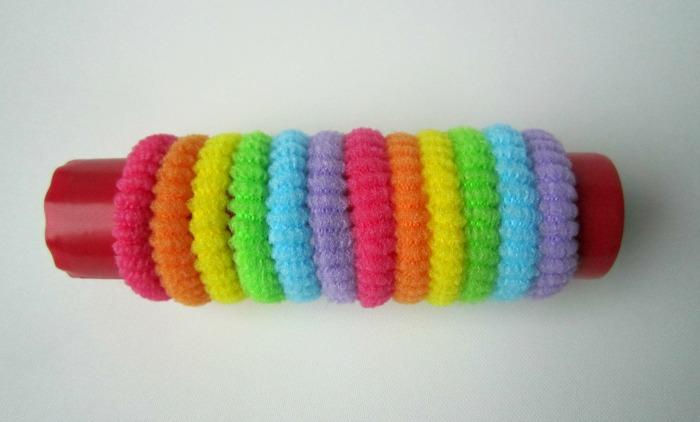 Fine motor rainbow activity