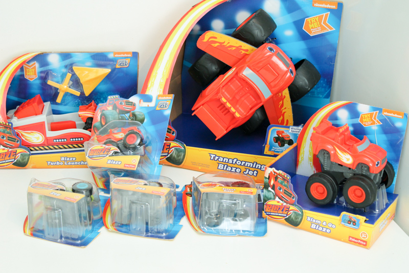 fisher price blaze and the monster machine toys