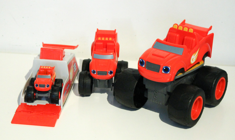 fisher price blaze and the monster machines toys