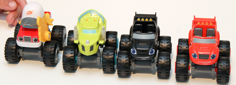 blaze and the monster machines die cast vehicles