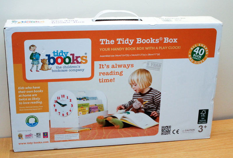 Tidy Books Book Box packaging