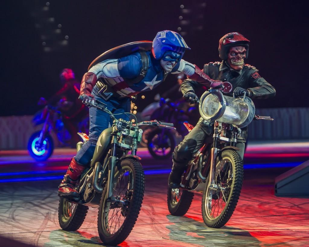 motor bikes marvel universe live