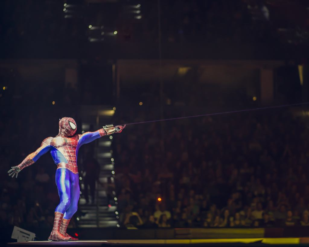 spiderman in marvel universe live