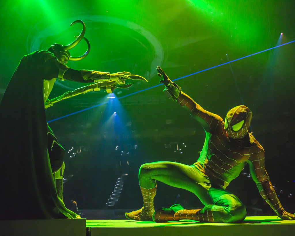 spiderman and loki marvel universe live