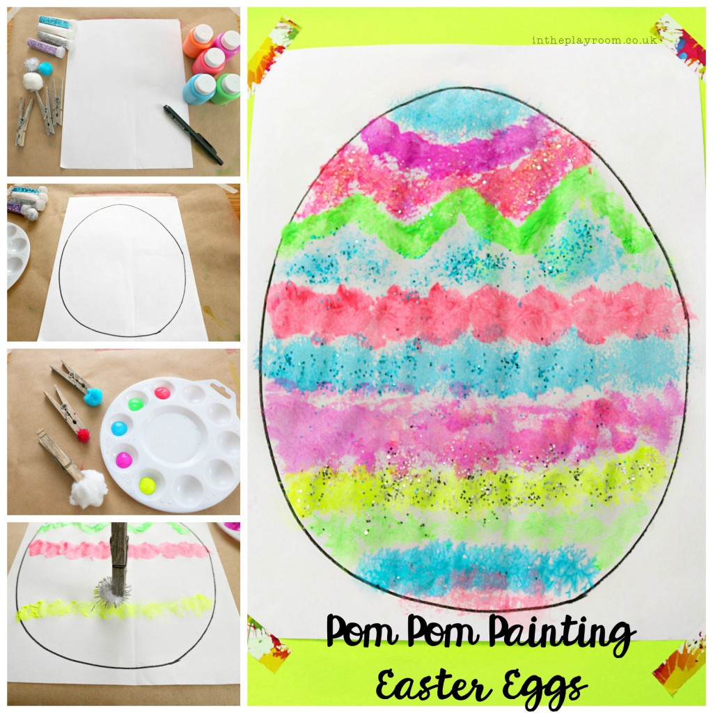fine motor easter egg activity