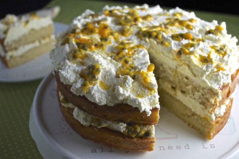 no junk passionfruit cake recipe